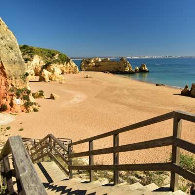Faro Algarve Karta.The Praia Da Dona Ana Beach Lagos Updated For 2019