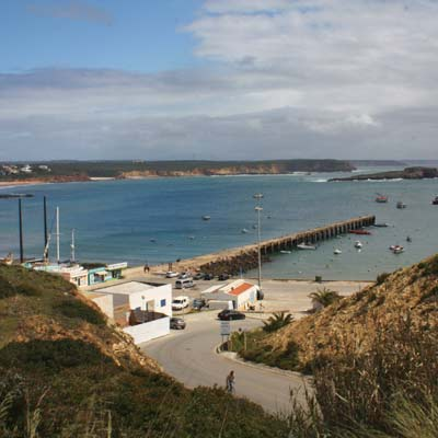 fishing harbour of Sagres