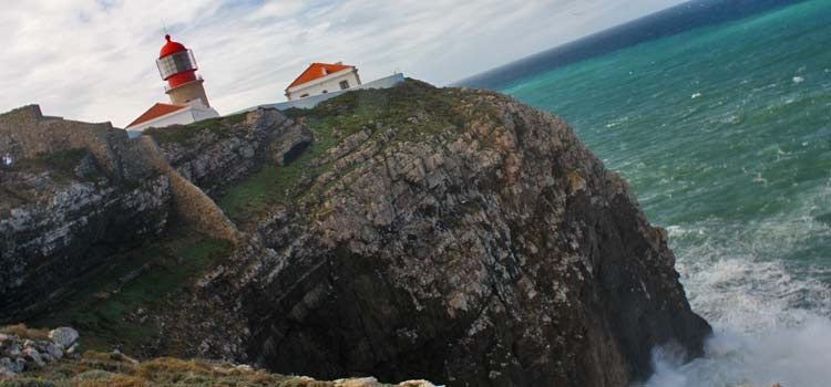 cliffs of Cabo de Sao Vicente