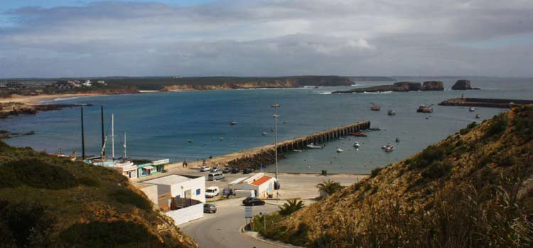 Sagres fishing harbour